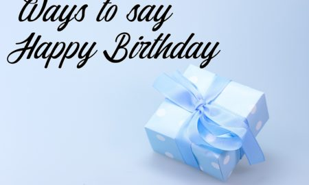 ways to say happy birthday