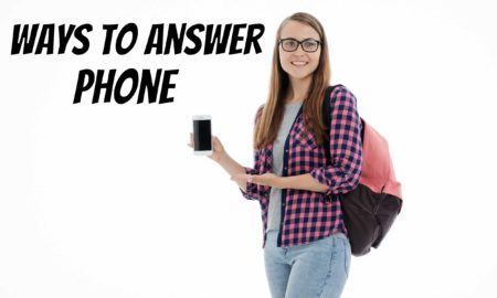 ways to answer phone
