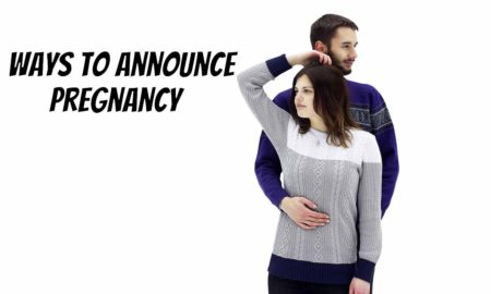 ways to announce pregnancy to family in person