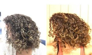 Air Dry Curly Hair