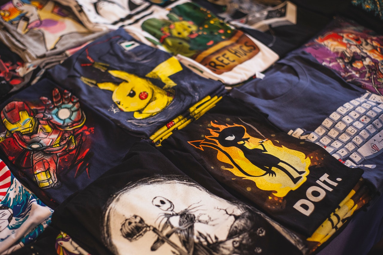 Inspirational T shirts with Cute Graphics