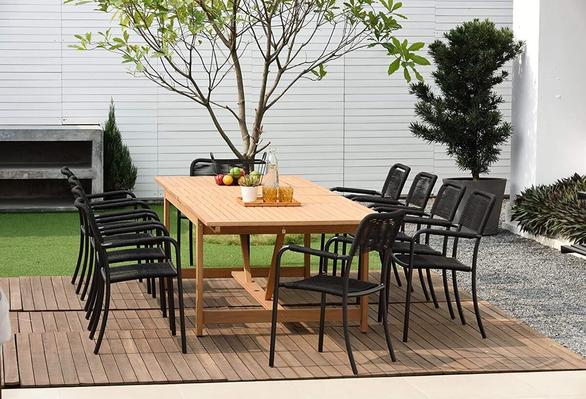 8 Unique Outdoor Tables For Your Place