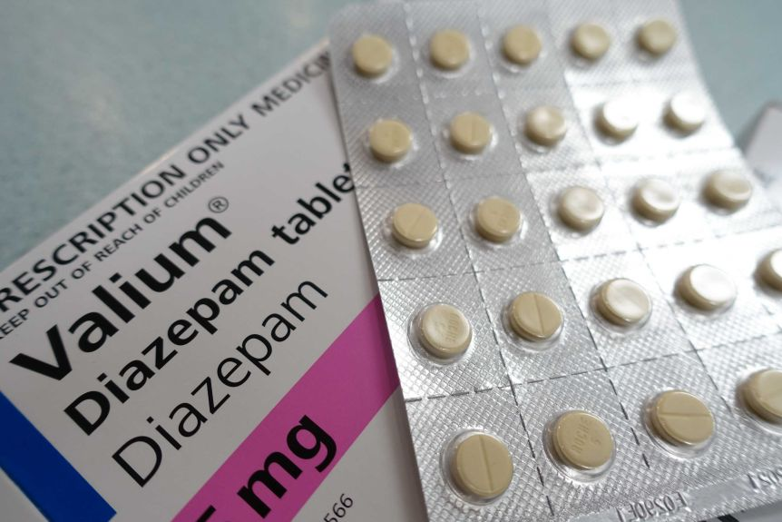 What are Valium pills used for