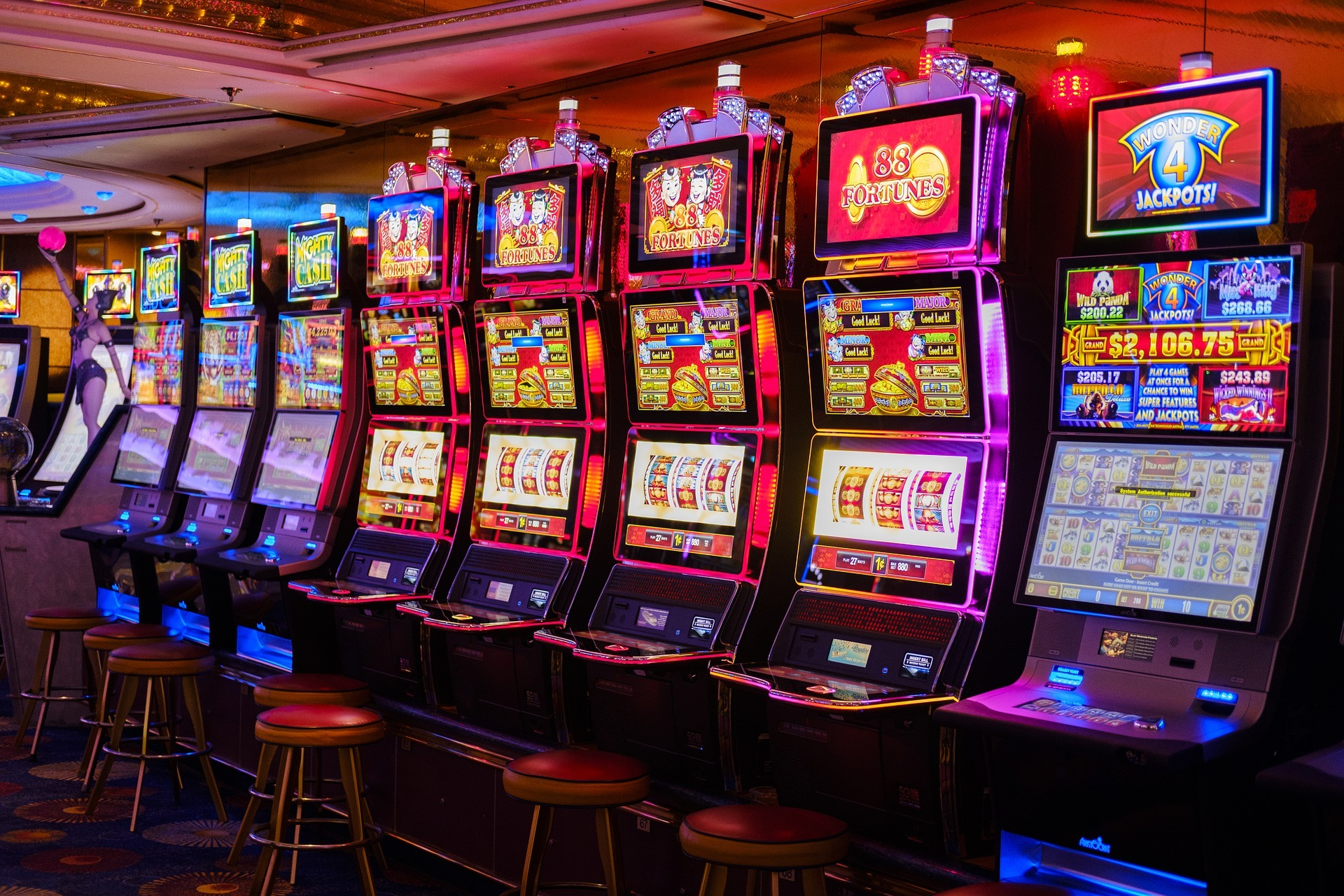 Slot games and their types