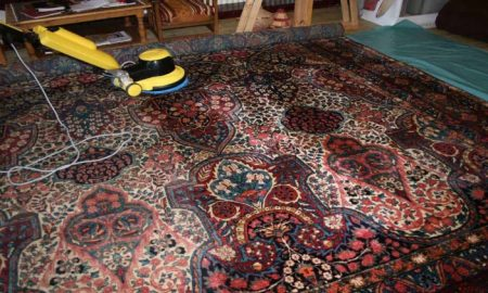 How to clean Persian carpets