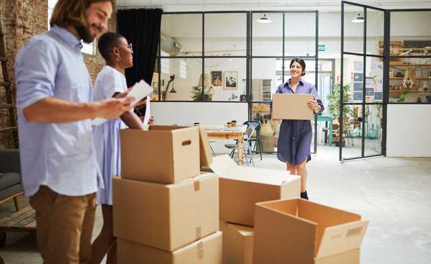 What to do after moving to a new office in London